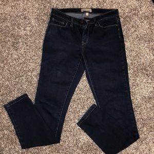 Banana Republic dark wash jeans size 27/4